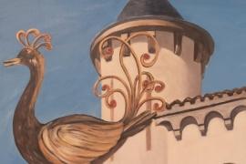 Le paon de la Messardière
