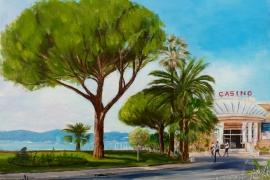Bord de mer de Sainte-Maxime et son Casino