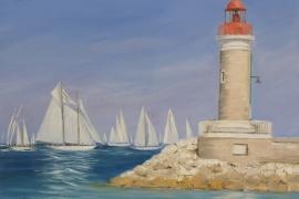 Le phare de St Tropez 2