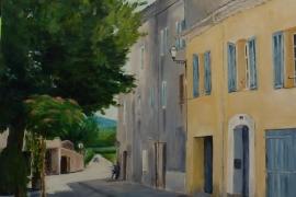 La maison jaune du Plan-de-la-Tour-Graziella-Agresti