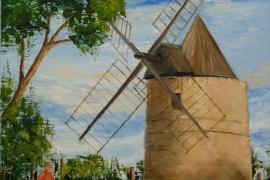 Le moulin de Ramatuelle