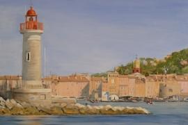 Le phare de St Tropez