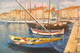 Les voiles latines de St Tropez