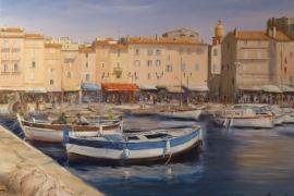 Le port de pêcheurs de St Tropez