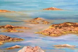 La belle bleu au cap Lardier, Graziella-Agresti