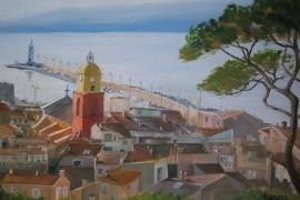 Vue de la Citadelle de St Tropez