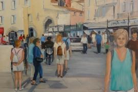Les touristes à Saint-Tropez